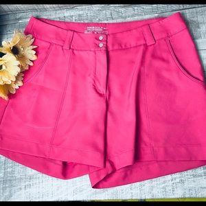 Nike Golf Pink DriFit Women's Shorts sz 8